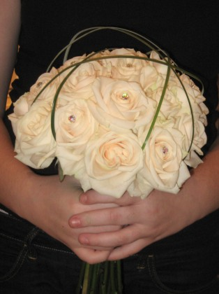 Hand Tied Rose Dome