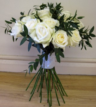 Hand Tied Rose Dome Bouquet